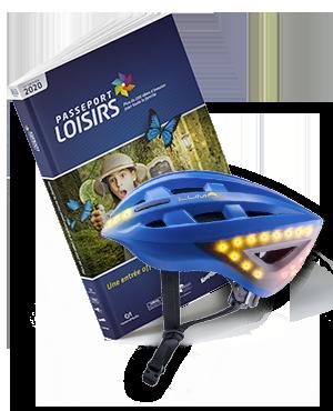 Pack Passeport Loisirs 2020 + Casque Lumos Blue