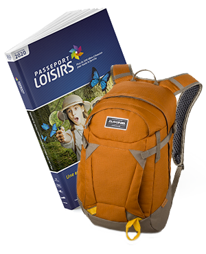 Pack Passeport Loisirs 2020 + Sac Dakine Canyon 20l Ginger