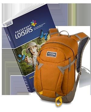 Passeport Loisirs 2020 + Sac Dakine Canyon 20l Ginger