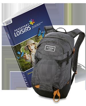 Pack Passeport Loisirs 2020 + Sac Dakine Canyon 20l Rincon