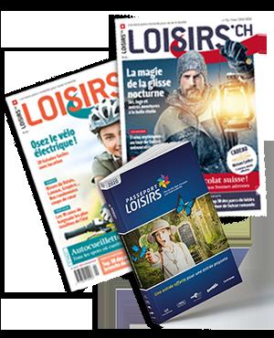 Pack Passeport Loisirs 2020 + Abonnement 2 ans au Magazine Loisirs.ch