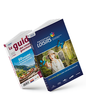 Pack Passeport Loisirs 2020 + 1 guide des randos gourmandes