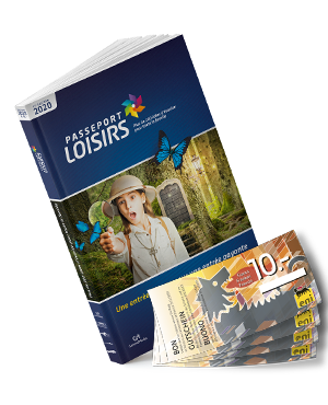 Pack Passeport Loisirs 2020 + Fr 40.- de bons essence Eni