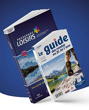 Pack Passeport Loisirs 2021 + Guide des Randos au Fil de l'Eau