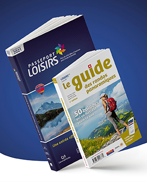 Pack Passeport Loisirs 2021 + Guide des Randos Panoramiques