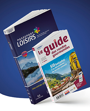 Pack Passeport Loisirs 2021 + Guide des Randos Gourmandes