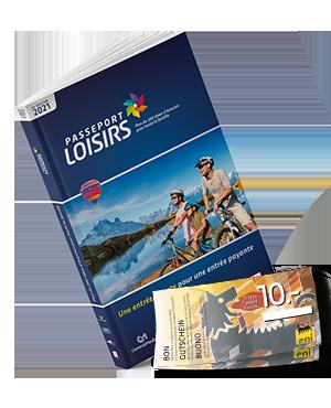 Pack Passeport Loisirs 2021 + Fr 20.- de bons essence Eni