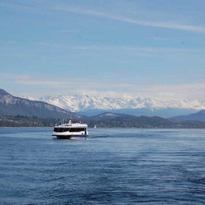 Bateaux du lac du Bourget