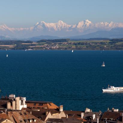 Navigation Neuchâtel et Morat