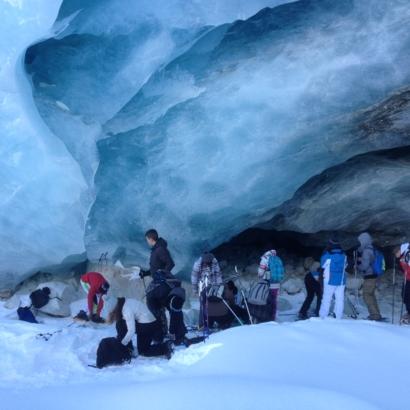 Montagne-Evasion - Grottes du glacier de Zinal