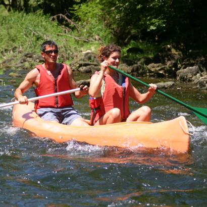 Escapades fluviales, canoë-kayak et balade en rosalie