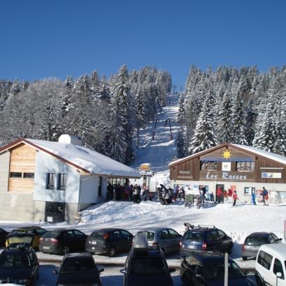 Domaine skiable Sainte-Croix / Les Rasses