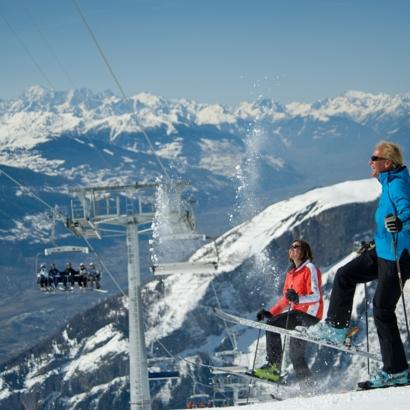Domaine skiable et téléphérique de Loèche-les-Bains et Albinen
