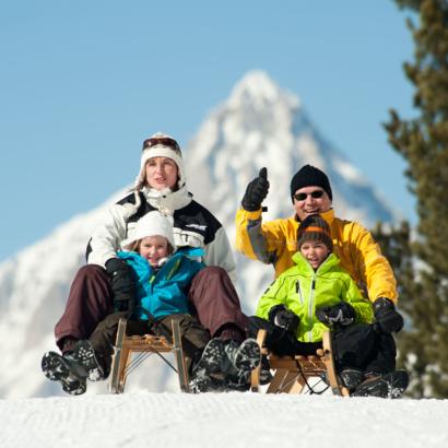Domaine skiable autour de Viège / Visp