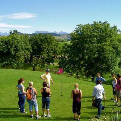 Swin golf et minigolf sur herbe de Cremin