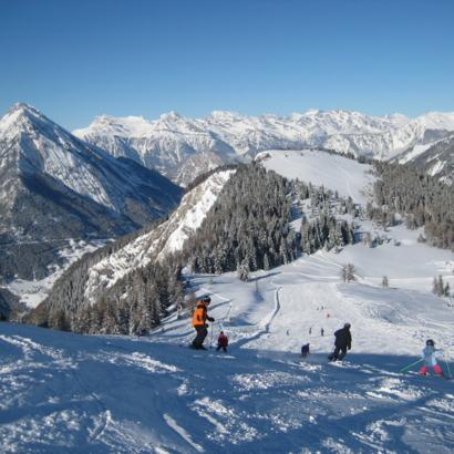 Ski au Pays du Saint-Bernard