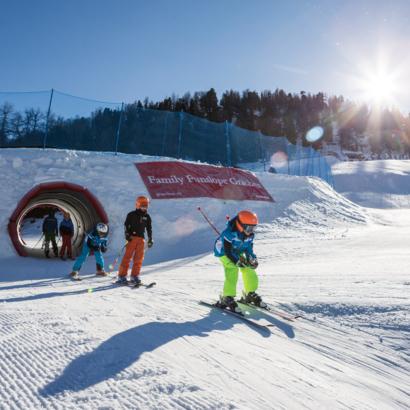 Domaine skiable et télécabine de Grächen