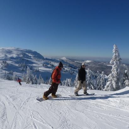 Domaine skiable Monts Jura