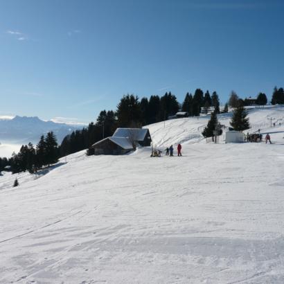 Domaine skiable des Pléiades sur Vevey