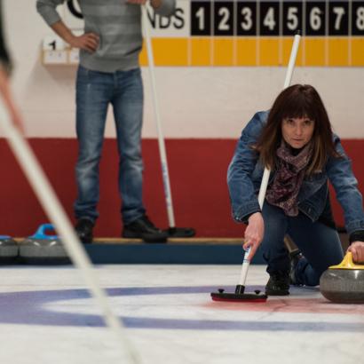 Curling au Palladium de Champéry