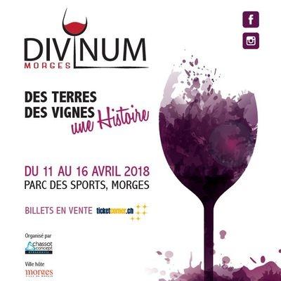 Gagnez 50x2 entrées pour le salon Divinum à Morges