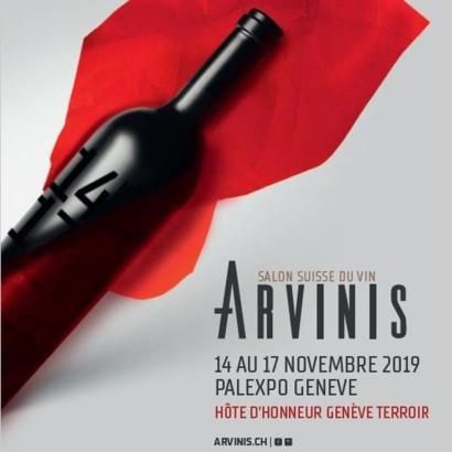Gagnez 25 x 2 billets pour le salon suisse du vin Arvinis