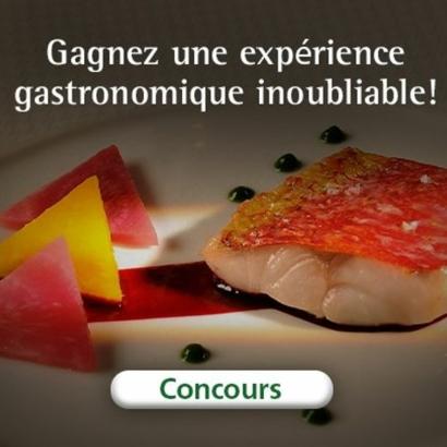 Gagnez une expérience gastronomique inoubliable !