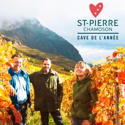 """Gagnez une sélection de 6 bouteilles des vins de la Cave St-Pierre, primée """"Cave Suisse de l'Année 2020"""""""
