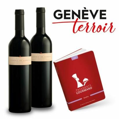 """Offre exclusive: 1 édition Genève achetée = 2 bouteilles """" L'Esprit de Genève """" (75cl) offertes"""