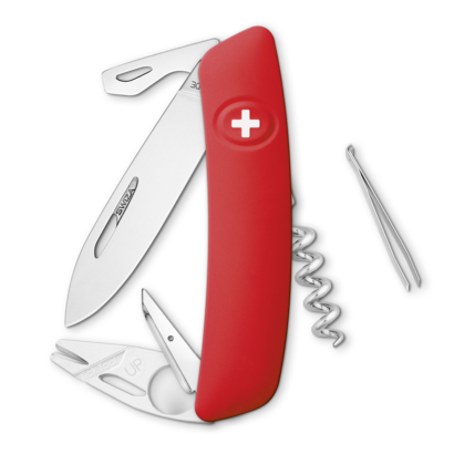 Gagner un couteau SWIZA Tick-Tool Rouge