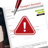 Avez-vous bien rempli votre passeport 2018?